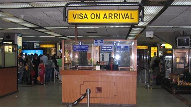 Visa on Arrival desk